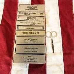 WWII Aeronautic First Aid Kit WW2