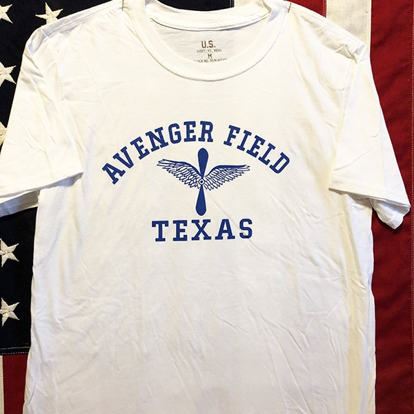 WWII WASP Avenger Field Texas T Shirt,  AAF Repro