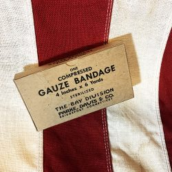 WWII Compressed Gauze Bandage WW2 Reproduction