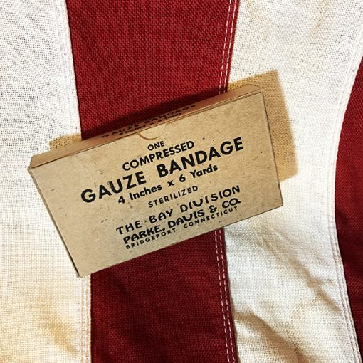 WWII Compressed Gauze Bandage WW2 Reproduction