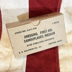 WWII Dressing First Aid Bandage WW2