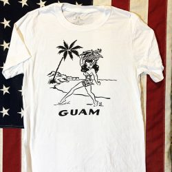 WWII Guam Girl T shirt WW2
