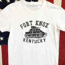 WWII Fort Knox Kentucky T Shirt US Army Tank WW2