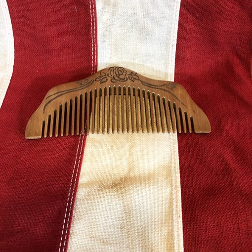 Womens Wood Comb Pacific Theater