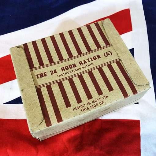 WWII British 24 Hour Ration Box WW2