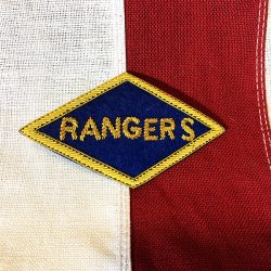WWII Ranger Bullion Patch WW2