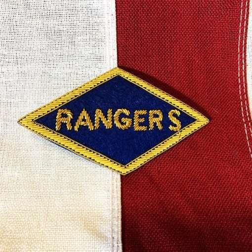WWII Ranger Bullion Patch WW2