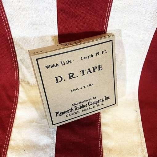 WWII D R Rubber Tape WW2