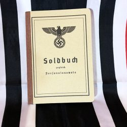 WWII German Army Soldbuch WW2