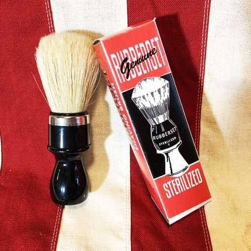 WWII Rubberset Shaving Brush WW2