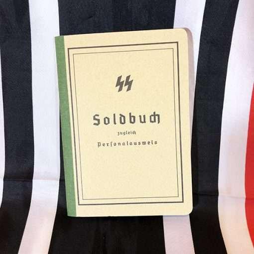 WWII SS Soldbuch WW2