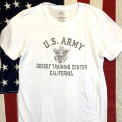 WWII Desert Training Center T shirt WW2 California