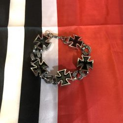 WWII German Iron Cross Bracelet WW2