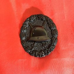 WWI German Army Wound Badge Black Finish WW1 Imperial Army