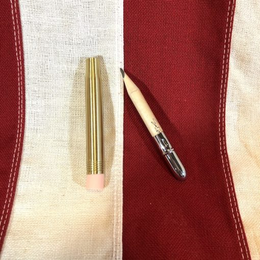 WWI Bullet Pencil Brass Reproduction WW1