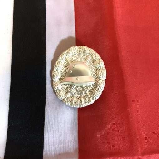 WWI German Army Wound Badge Silver Finish Imperial Army WW1