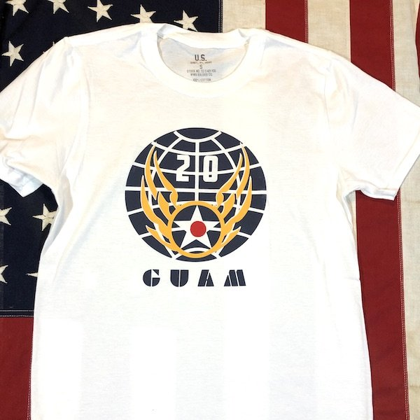 WWII 20th Air Force T Shirt Reproduction, US AAF