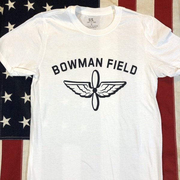 WWII Bowman Field T Shirt Reproduction, AAF