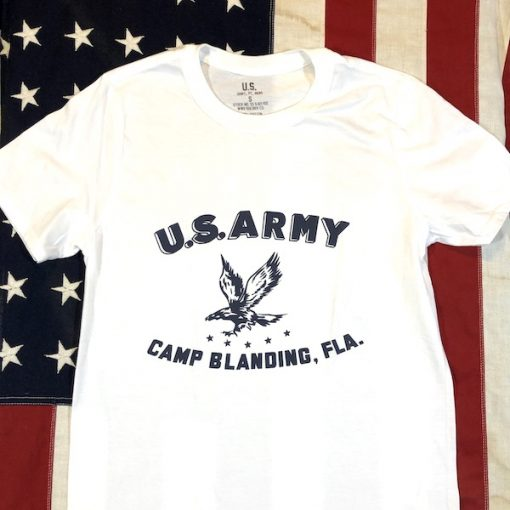 WWII Camp Blanding Florida T shirt reproduction WW2