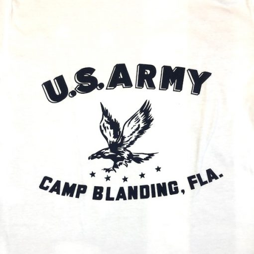 WWII Camp Blanding Florida T shirt reproduction design WW2