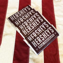 WWII Hershey Candy Chocolate Bar WW2