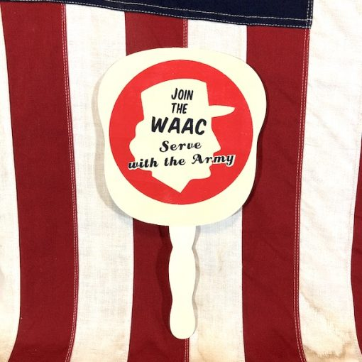WWII Join the WAAC Fan Reproduction WW2