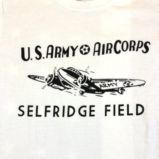 WWII Selfridge Field Michigan T Shirt US Army Air Corps WW2