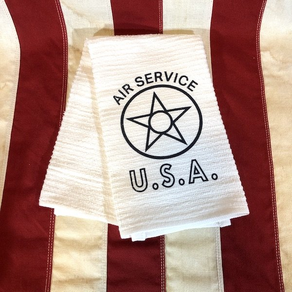 WWI Air Service USA Towel Reproduction