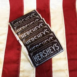 WWI Hershey Chocolate Bars Reproduction WW1 6 pack