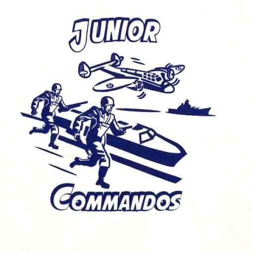 WWII Junior Commando Kid T shirt Reproduction WW2 design