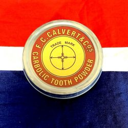 WWI Calvert Tooth Powder WW1
