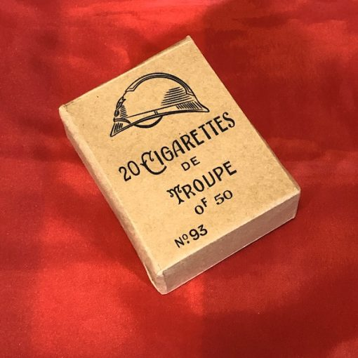 WWI French De Troupe Cigarettes WW1 reproduction