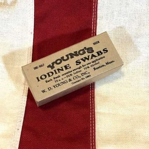 WWI Iodine Swabs Youngs WW1