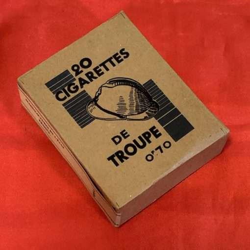 WWII De Troupe French Cigarettes WW2