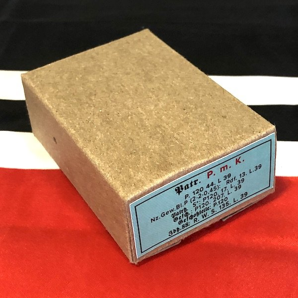German Patronen P m K Armor Piercing Incendiary Ammo Cartridge Box , WWII Repro