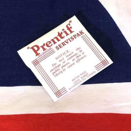 WWII Prentif British Condom Reproduction WW2