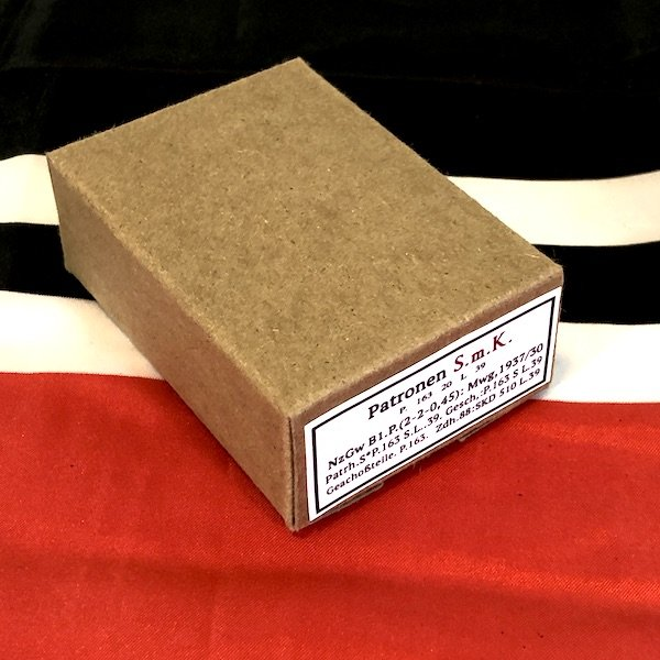 German S m K Patronen Armor Piercing Ammo Cartridge Box , WWII Repro
