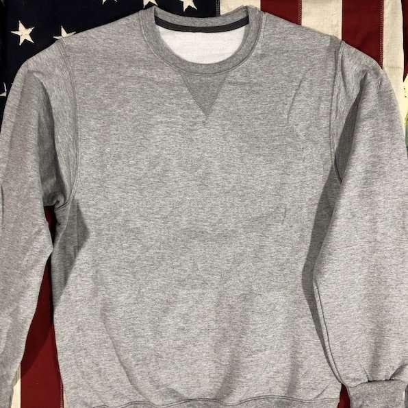 WWII V notch Plain Sweatshirt Reproduction