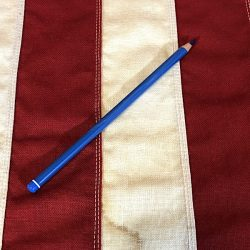 WWII Blue indelible pencil WW2