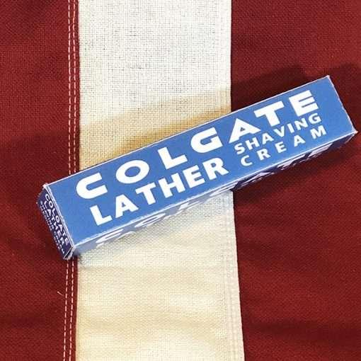 WWII Colgate Shaving Cream Box WW2 reproduction