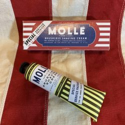 Repro 1940s Molle Shaving Tube and Box