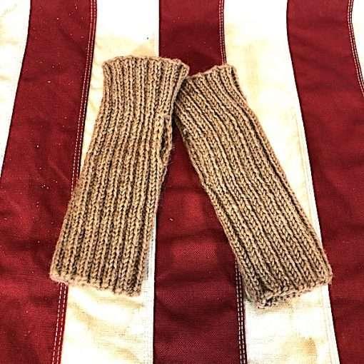 WWI hand warmers wristlets wool ww1 reproduction