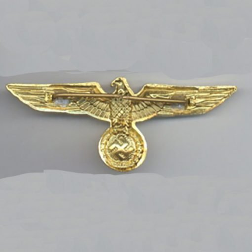 WWII German General Gold Eagle Cap back WW2