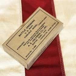 WWII USN Carlisle Battle Dressing WW2 reproduction