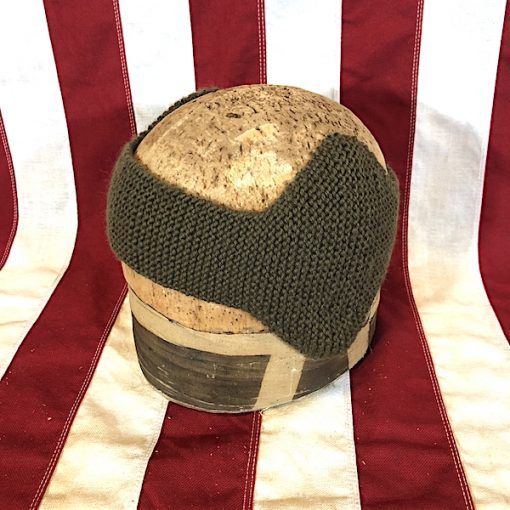 WWII Ear Protectors and Headband WW2 reproduction