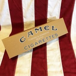 WWI Camel Cigarette Carton Box WW2