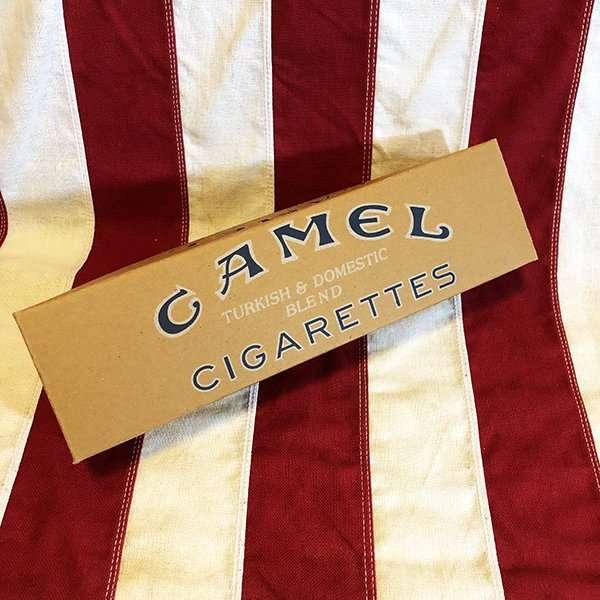 WWI Camel Cigarette Carton Reproduction