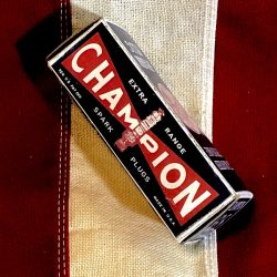 WWII Champion Spark Plug Box Reproduction WW@