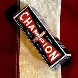 WWII Champion Spark Plug Box Reproduction WW@
