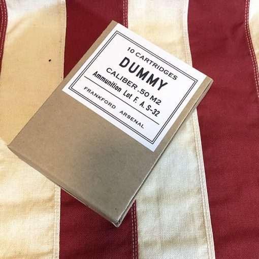 WWII Dummy 50 Cartridge Box WW2